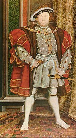 Henry VIII, 1491-1547, King of England 1509-1547