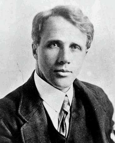 A young Robert Frost (c. 1910)