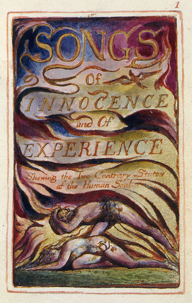 Frontispiece, by William Blake, for *Songs of Innocence and of Experience*