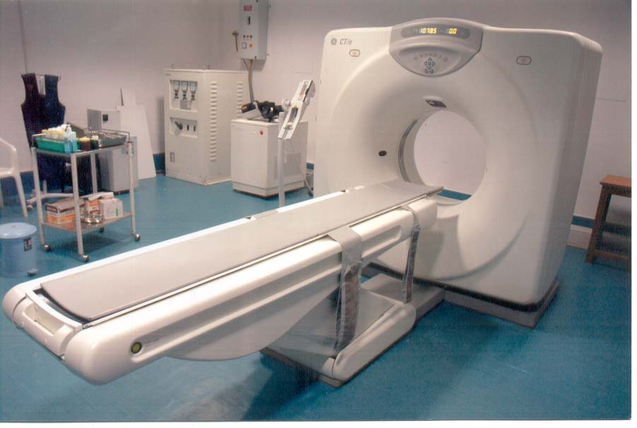 Computerized tomography (CT) scanner