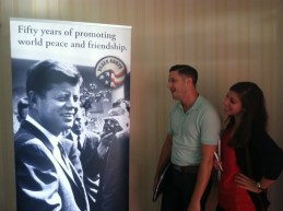 Welcome to the Peace Corps. Thanks dreamboat JFK.