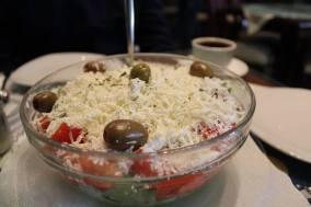 When in Macedonia, we eat shopska salata.