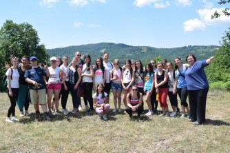 The whole hiking crew. :)