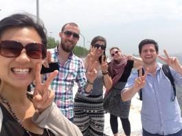 The sweet, Istanbul crew.