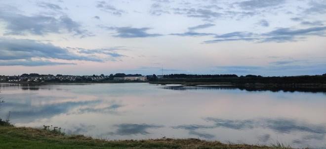 Lough Atalia - Evening Light