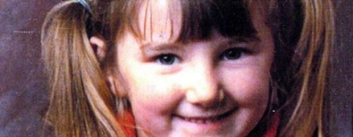 Pretty smile and pigtails - Mary Boyle was just a girl