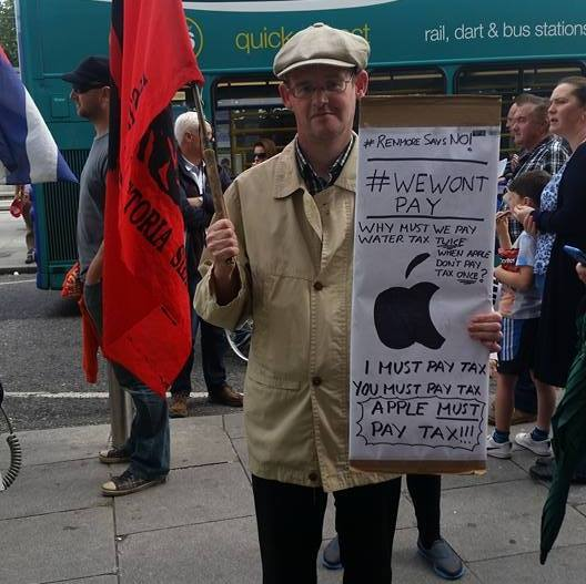 At the September Right2Water march in Dublin