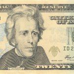 US $20 United States twenty-dollar bill – Price of a life in America