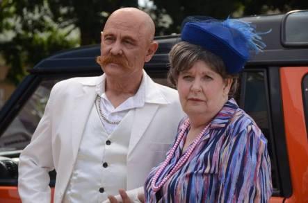 Marcel van Heerden and Margot van Rooy