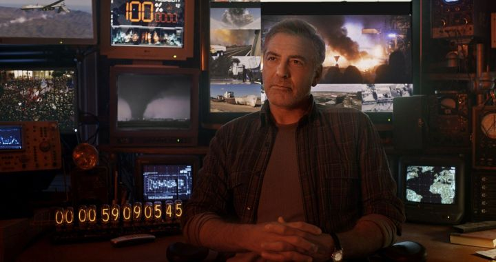 Disney's TOMORROWLAND..Frank (George Clooney)..Ph: Film Frame..?Disney 2015