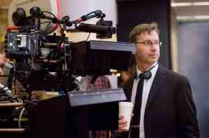 """Director PAUL FEIG observes a scene from """"Unaccompanied Minors,"""" a Warner Bros. Pictures' and Village Roadshow Pictures' comedy distributed by Warner Bros. Pictures. PHOTOGRAPHS TO BE USED SOLELY FOR ADVERTISING, PROMOTION, PUBLICITY OR REVIEWS OF THIS SPECIFIC MOTION PICTURE AND TO REMAIN THE PROPERTY OF THE STUDIO. NOT FOR SALE OR REDISTRIBUTION"""