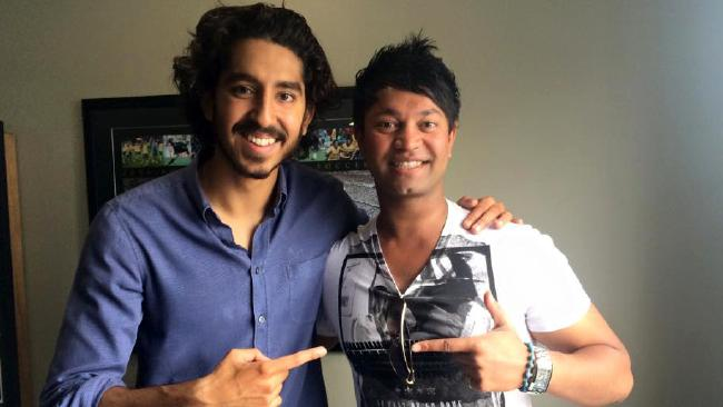 Dev Patel and Saroo Brierley