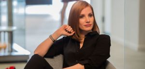 "M79 Jessica Chastain stars in EuropaCorp's ""Miss. Sloane"". Photo Credit: Kerry Hayes © 2016 EuropaCorp Ð France 2 Cinema"
