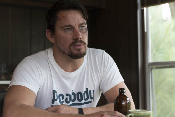 "No Merchandising. Editorial Use Only. No Book Cover Usage Mandatory Credit: Photo by C Barius/Trans Radial/Kobal/REX/Shutterstock (8982455a) Channing Tatum ""Logan Lucky"" Film - 2017"