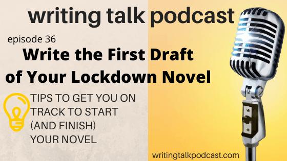 write your lockdown novel