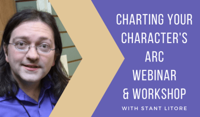 Charting Your Character's Arc Webinar and Workshop
