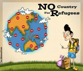 No Country for Refugees. Eaten Fish