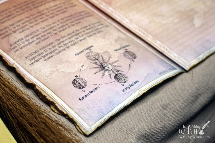 How to use the 8 sabbats of witches for manifestation. Printable wheel of the year pagan calendar for your DIY grimoire or book of shadows journal.