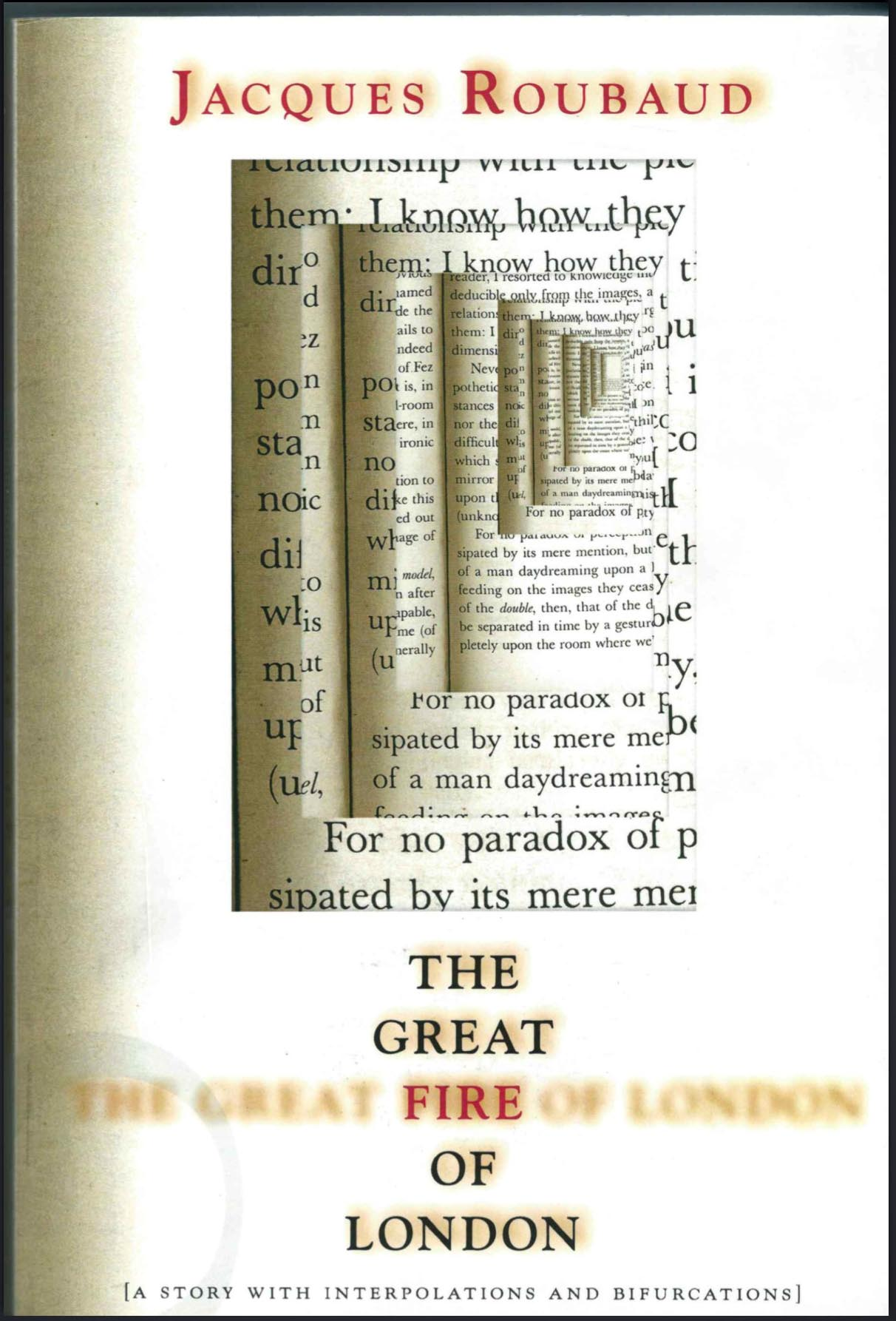 4 5 Jacques Roubaud The Great Fire Of London