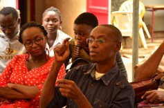 Jackee Batanda at Anenas book launch