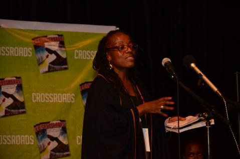 Tsitsi launches the book