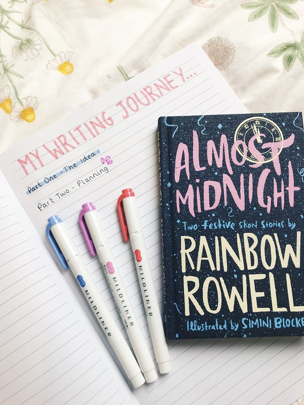 writing-journey-part-two-planning-writing-a-book-rainbow-rowell-bookblogger