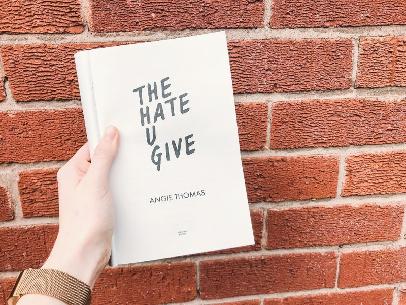 The Hate U Give book review by writtenbycharlotte.com.