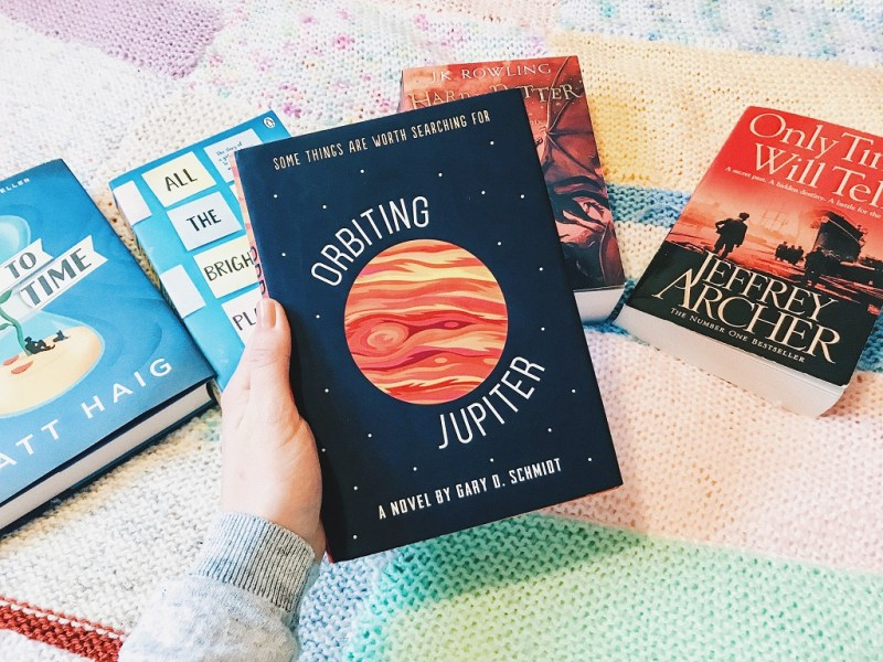 Orbiting Jupiter is such an easy read, and also turned out to be a very good book too.
