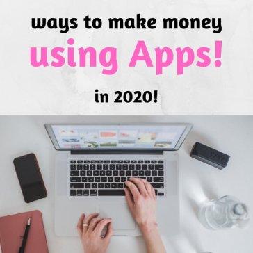 ways to make money using apps