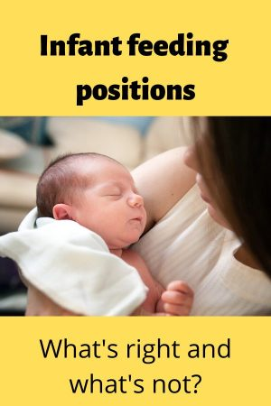 infant feeding positions