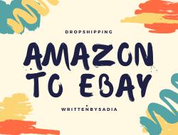 dropshipping amazon to ebay