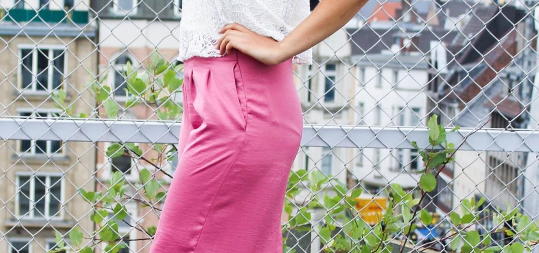Pinke Culottes