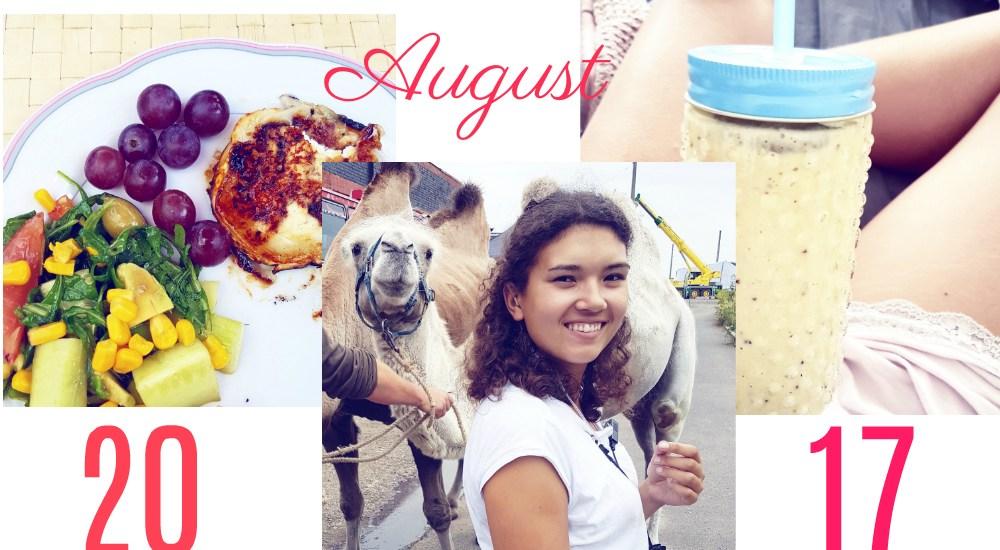 Monat August