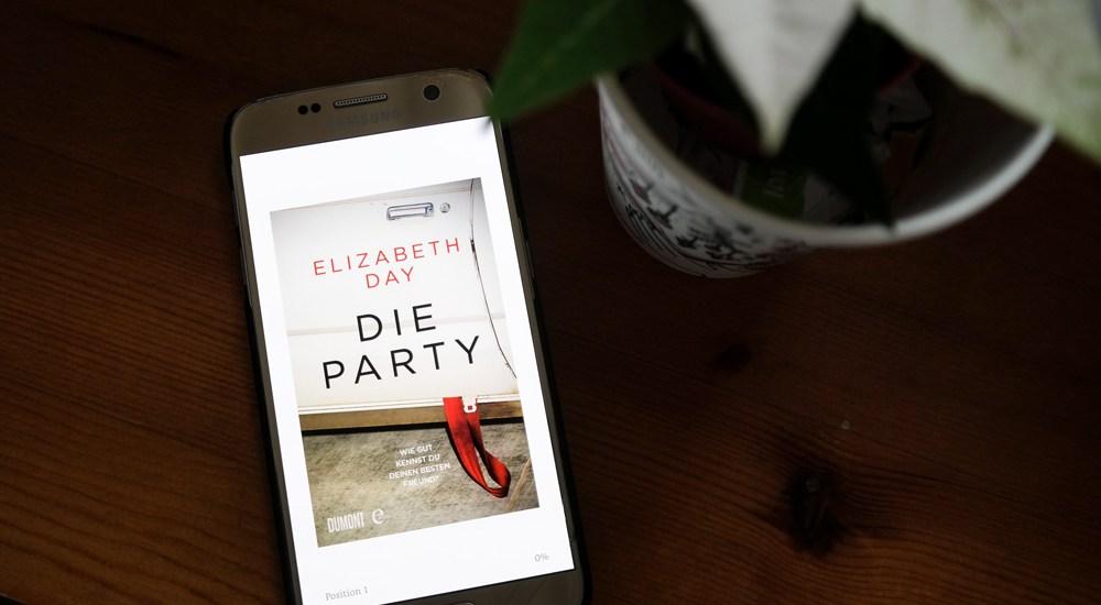 """""""Die Party"""" von Elizabeth Day"""