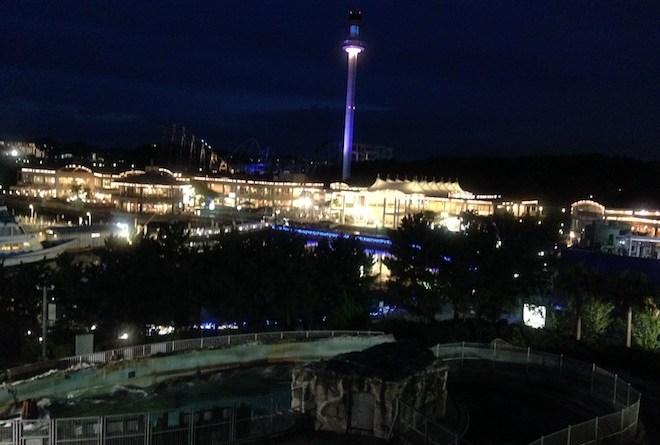 八景島シーパラダイスの夜景