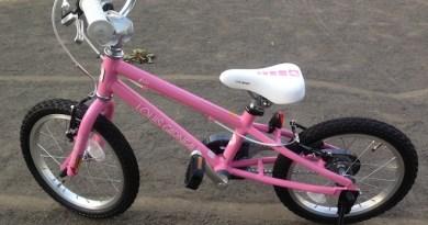 娘の初自転車