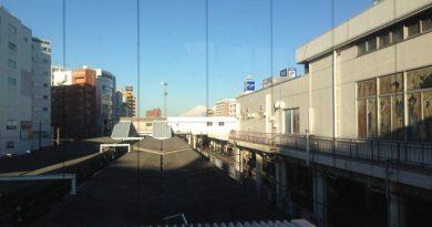 藤沢駅からの富士山