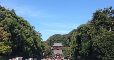 Tsurugaoka_Hachiman_Shrine_approach