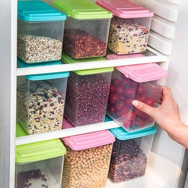 simple storage ideas to organize your kitchen right now - written