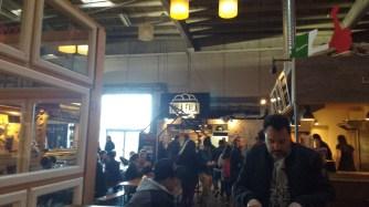 Inside Copenhagen Street Food Market