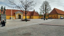 Currently the Roskilde Museum, formerly probably the rectory