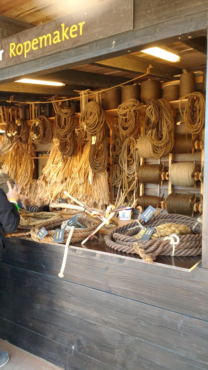 Who knew there were so many different kinds of rope? Not me