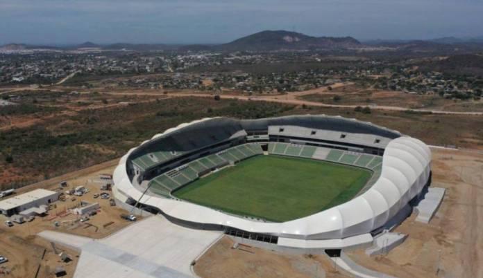 Así es el nuevo estadio de futbol en Mazatlán   Deportes   W Radio ...