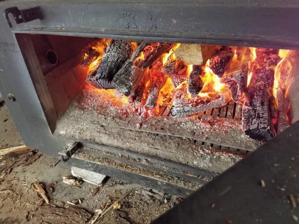 Maple Firebox