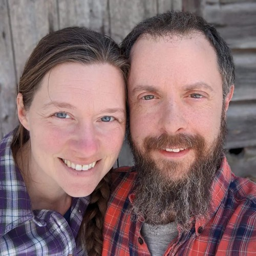 Rachel and Dave Perozzi, raising grass fed beef, pasture raised chicken, turkey, and pork on our family's farm since 2011.  Rachel focuses on the grass fed beef herd and Dave focuses on the pasture raised poultry and home delivery.