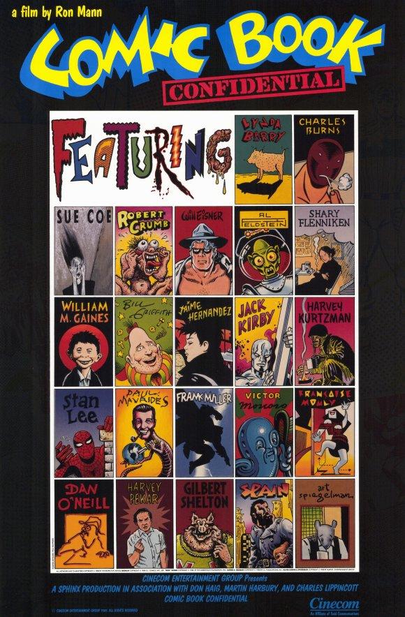 Poster do filme Comic Book Confidential
