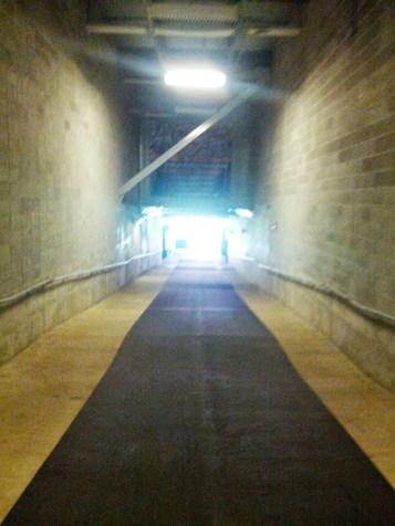 BBVA Compass Stadium Tunnel