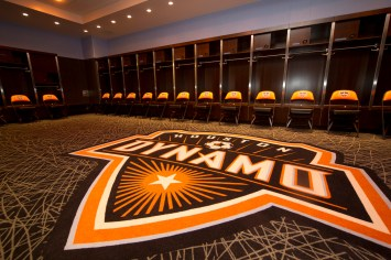 BBVA Compass Stadium Dynamo Locker Room