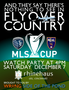 MLS Final 2013 Cincinnati Watch Party
