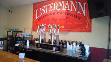 The taproom at Listermann will be one of two places you can actually get your hands on E.S. Bee.